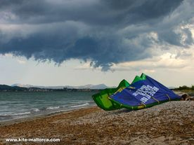 Pictures from kitesurfing by Kite-Mallorca