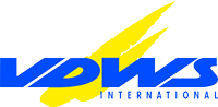 Logo from VDWS, international kitesurfing association